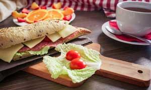 Desayuno en la residencia universitaria de Vitoria Inmaculada