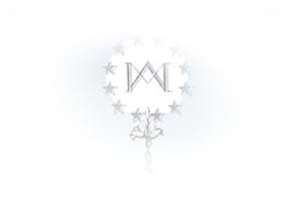 Logo en blanco de la residencia universitaria de Vitoria Inmaculada