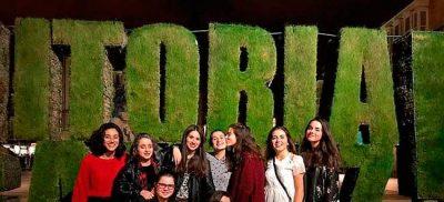 Estudiantes de la residencia universitaria de Vitoria Inmaculada