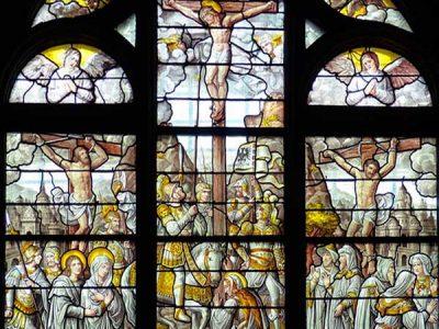 En la Semana Santa en Vitoria