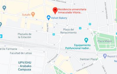 Residencia universitaria INmaculada, Angulema Kalea, 6, 01004 Vitoria-Gasteiz